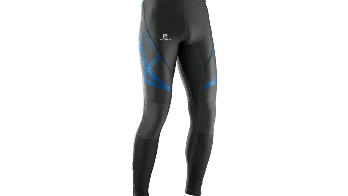 Collant running homme salomon