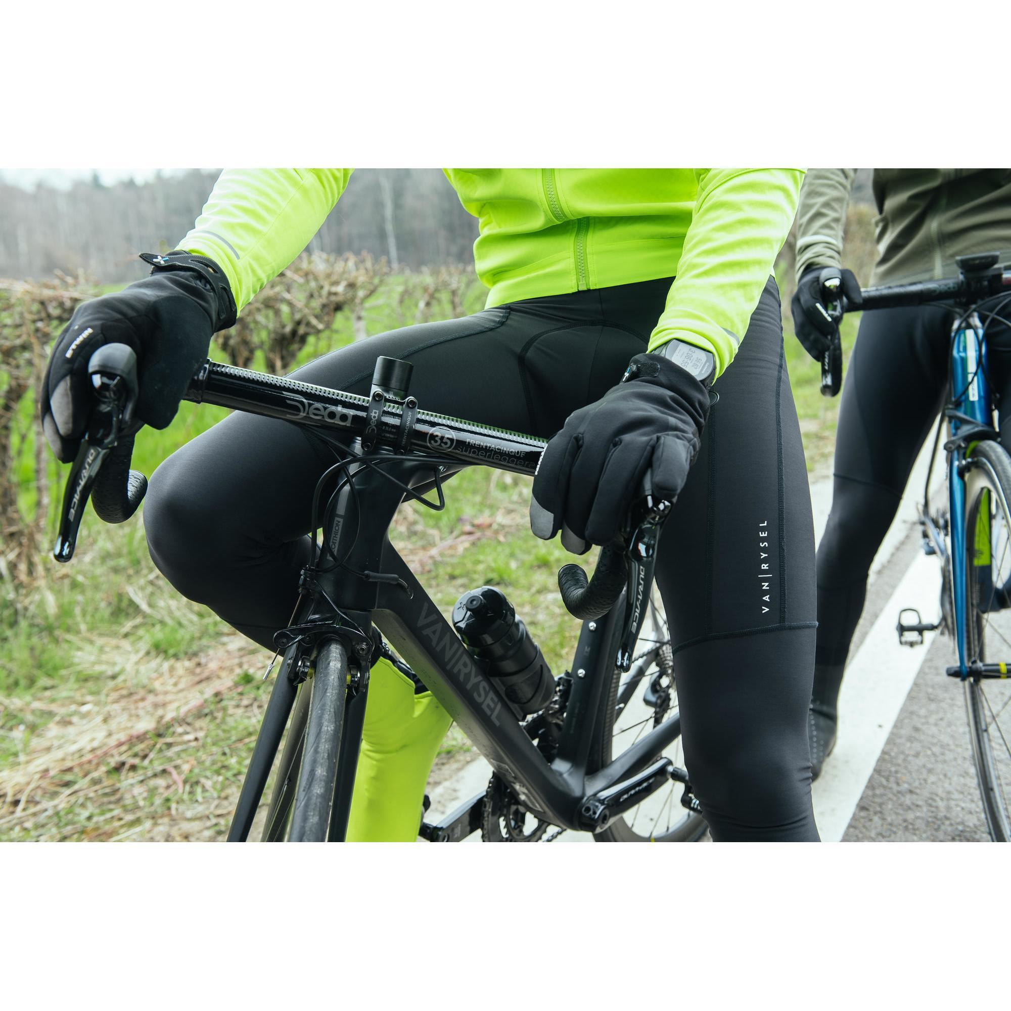 Collant velo hiver homme