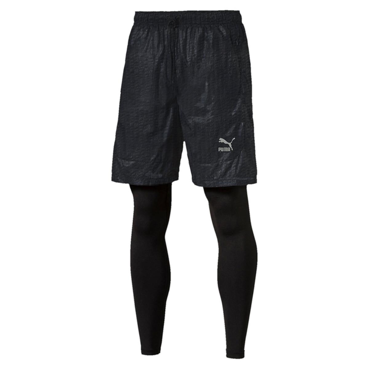 Homme short collant